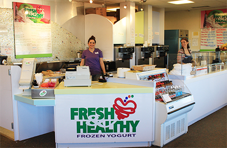 Fresh & Healthy Frozen Yogurt